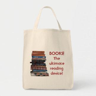 Reserve la Bolso-Pila de libros viejos/de disposit Bolsa Tela Para La Compra