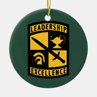 Reserve Officers' Training Corps Ceramic Ornament