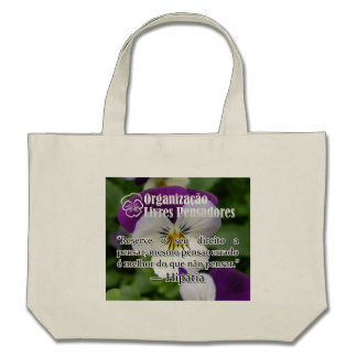 Reserve stock market its right to be thought tote bag