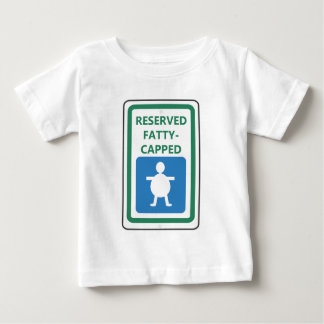 Reserved Fatty-Capped Baby T-Shirt