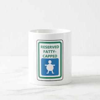 Reserved Fatty-Capped Coffee Mug