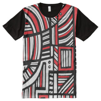Reserved Frank Light Passionate All-Over Print Shirt