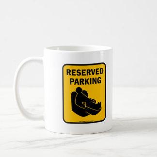 Reserved Parking Coffee Mug