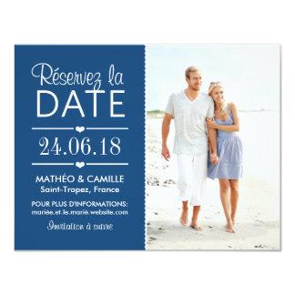 Réserver la Date du Mariage | Cartes Avec Photo Card
