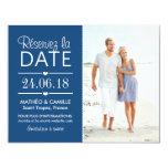 Réserver la Date du Mariage | Cartes Avec Photo Comunicado Personalizado