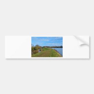 Reservoir And Canal Bumper Sticker