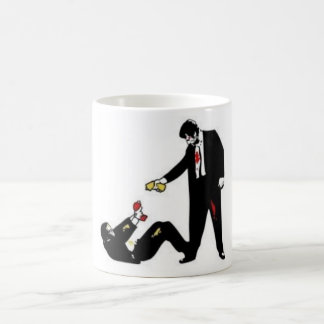 Reservoir Dogs cartoon combat Mug