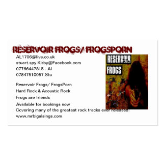 Reservoir Frogs Double-Sided Standard Business Cards (Pack Of 100)