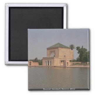 Reservoir, Marrakech, Morocco, Africa Magnet