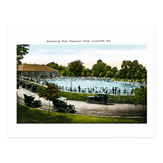 Reservoir Park, Louisville, Kentucky Postcard