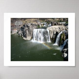 Reservoir Photo Twin Falls Id.  Print