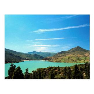 Reservoir serving Chaouen, Er Rif, Morocco Post Cards