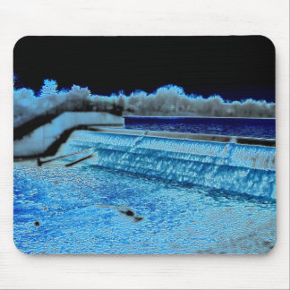 Reservoir Waterfall Mouse Pads