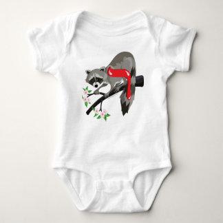 Resh Hebrew Aleph Bet (Alphabet) Raccoon T-Shirt