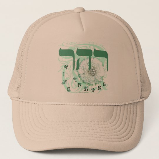 RESH HEY RESH ~ TIME TRAVEL TRUCKER HAT