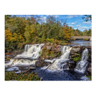Resica Falls In Pennsylvania 2 Postcard