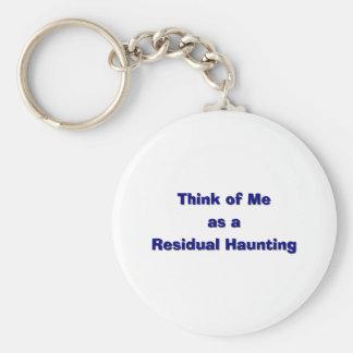 Residal Haunting Keychain