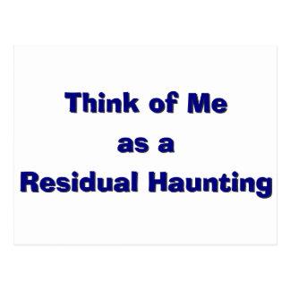 Residal Haunting Postcard