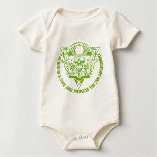 Reside In A State That Protects The 2nd Amendment Baby Bodysuit