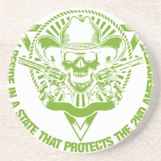 Reside In A State That Protects The 2nd Amendment Coaster