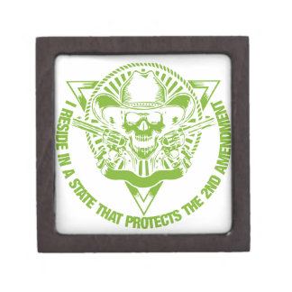 Reside In A State That Protects The 2nd Amendment Gift Box
