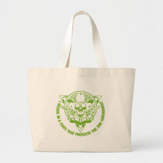 Reside In A State That Protects The 2nd Amendment Large Tote Bag