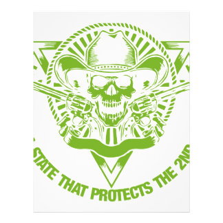 Reside In A State That Protects The 2nd Amendment Letterhead