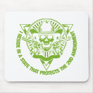 Reside In A State That Protects The 2nd Amendment Mouse Pad