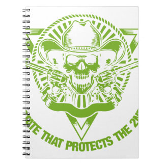 Reside In A State That Protects The 2nd Amendment Spiral Notebook