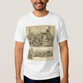 Residence and Greenhouse of John Lent Sewickley Tshirts