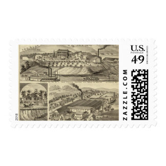 Residence and saw mill of Susan Harpold Postage