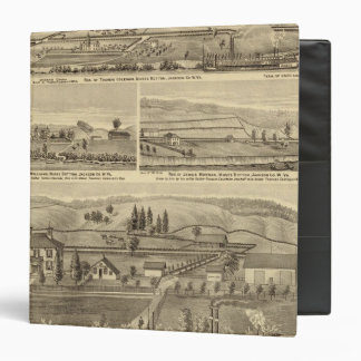 Residence and store of William M Roberts Vinyl Binder