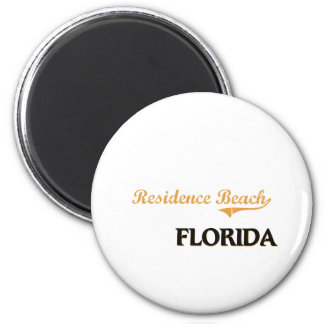 Residence Beach Florida Classic 2 Inch Round Magnet