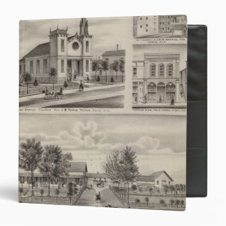 Residence, Farm, Church and Store in Minnesota 3 Ring Binder