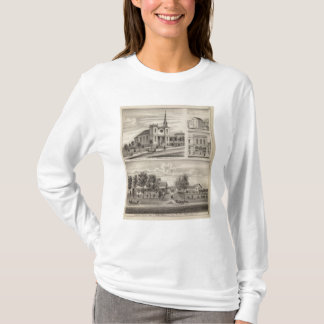 Residence, Farm, Church and Store in Minnesota T-Shirt