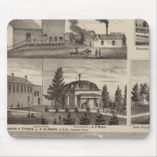 Residence in Hutchinson, Minnesota Mouse Pad