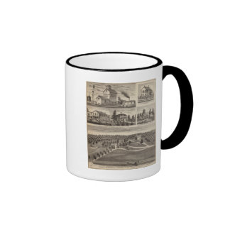 Residence in Hutchinson, Minnesota Coffee Mugs