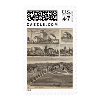 Residence in Hutchinson, Minnesota Postage Stamp