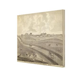 Residence, Minnesota Canvas Print
