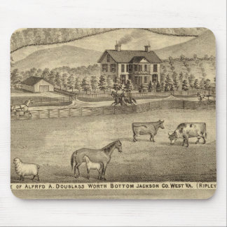 Residence of Alfred A Douglass Mouse Pad