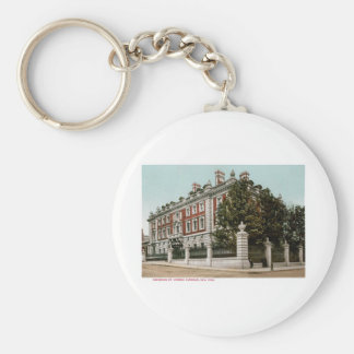 Residence of Andrew Carnegie, New York Basic Round Button Keychain
