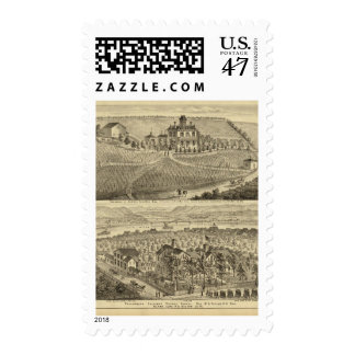 Residence of Andrew Lindsey Glenfield Postage