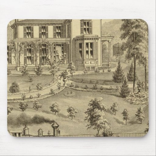 Residence of David R Kerr Mouse Pad