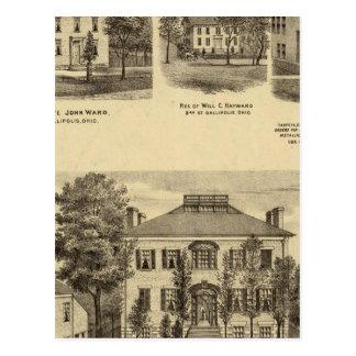 Residence of Dr Joseph Shallcross Postcard