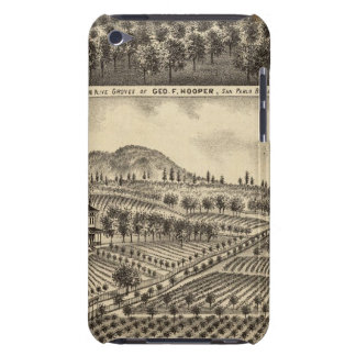 Residence of Geo F Hooper iPod Touch Cover