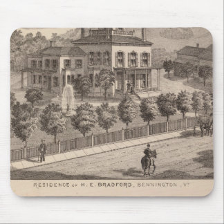 Residence of HE Bradford and HE Bradford and Mousepads