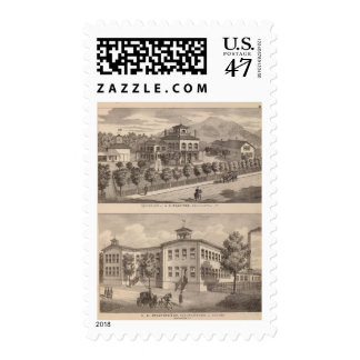 Residence of HE Bradford and HE Bradford and Stamp
