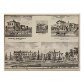 Residence of Henry Baker and others Poster