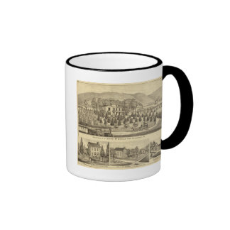 Residence of J Sharp McDonald Sewickley Coffee Mug