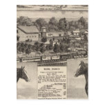 Residence of James Potter, Junction City, Kansas Postcard
